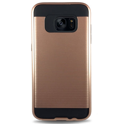 J & J Case for Samsung S6 Edge - Rose Gold