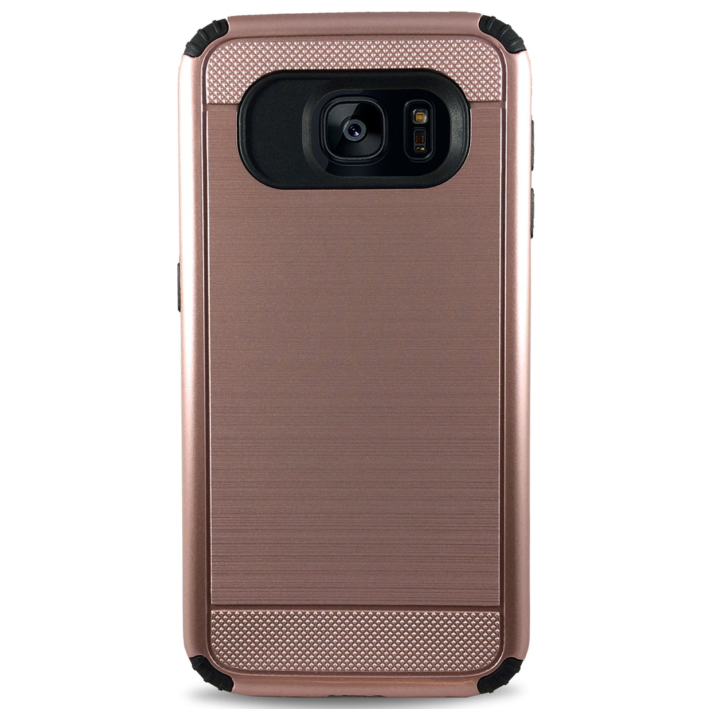 Veras Case for Samsung S7 - Rose Gold