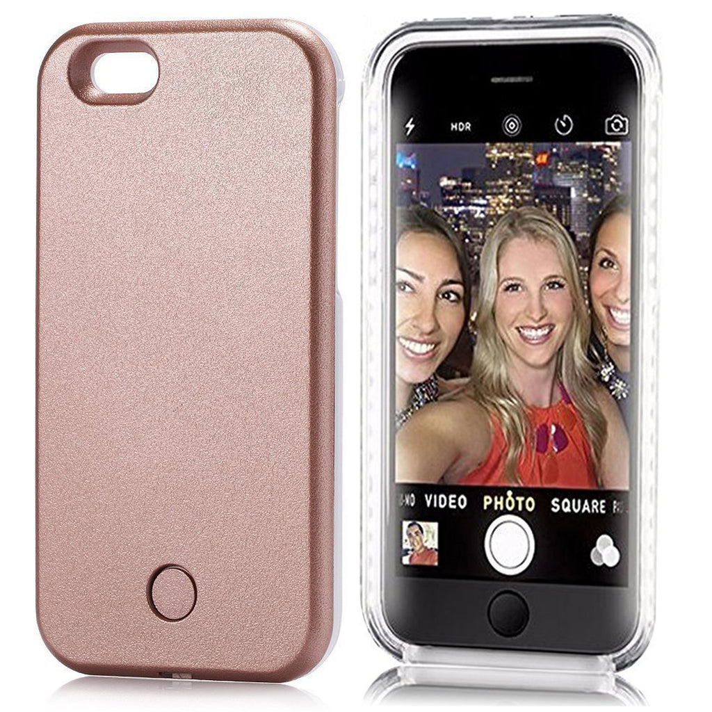 Selfie Case for iPhone 6/6S - Rose Gold