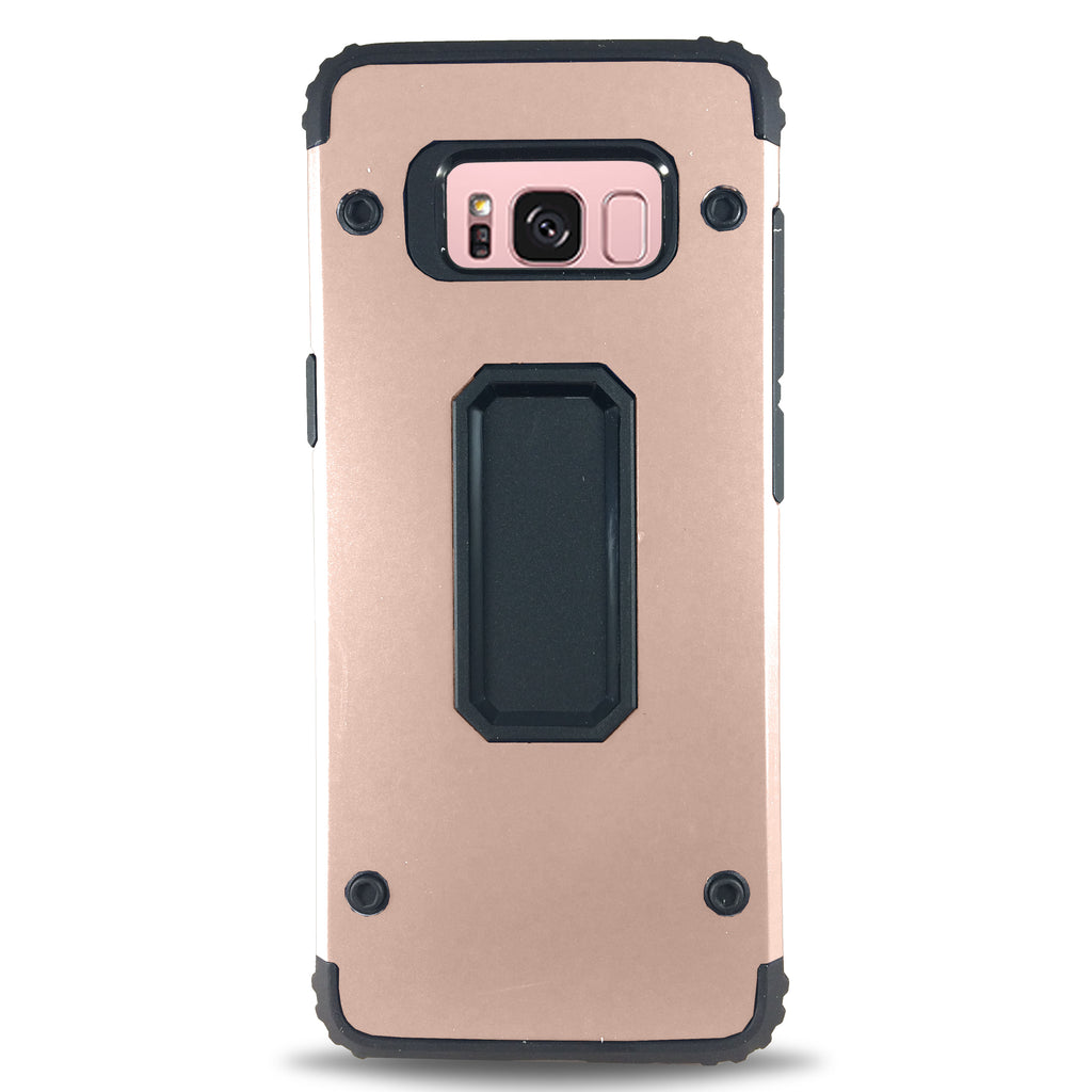 Four Dot Case for Samsung S8 Plus - Rose Gold