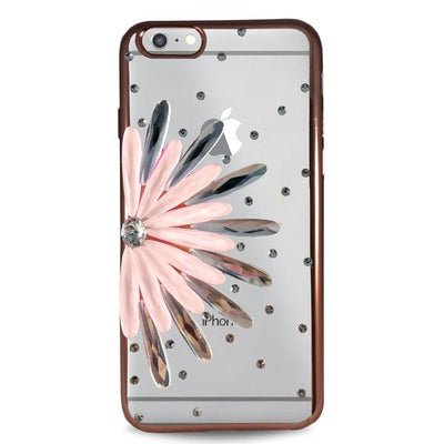 Flower Case for iPhone 6/6S - Rose Gold