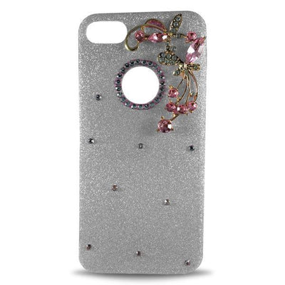 Dekkin Flower Glitter Apple iPhone 8 Plus/7 Plus Case - Light Pink