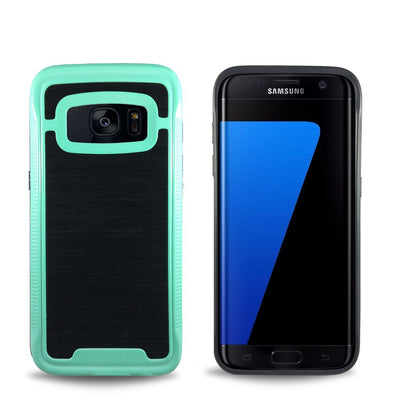 Space Case for Samsung S6 Edge - Teal