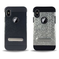 Protective Magnet Kickstand Case for iPhone X