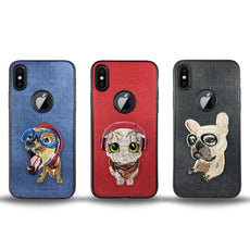 Pet Lazy Dog Case for iPhone X