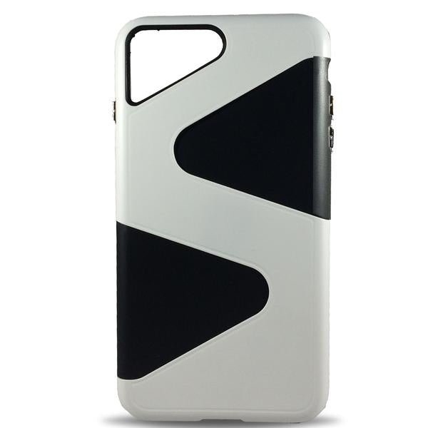 Wave Dual Layer Apple iPhone 8 Plus/7 Plus Case - White