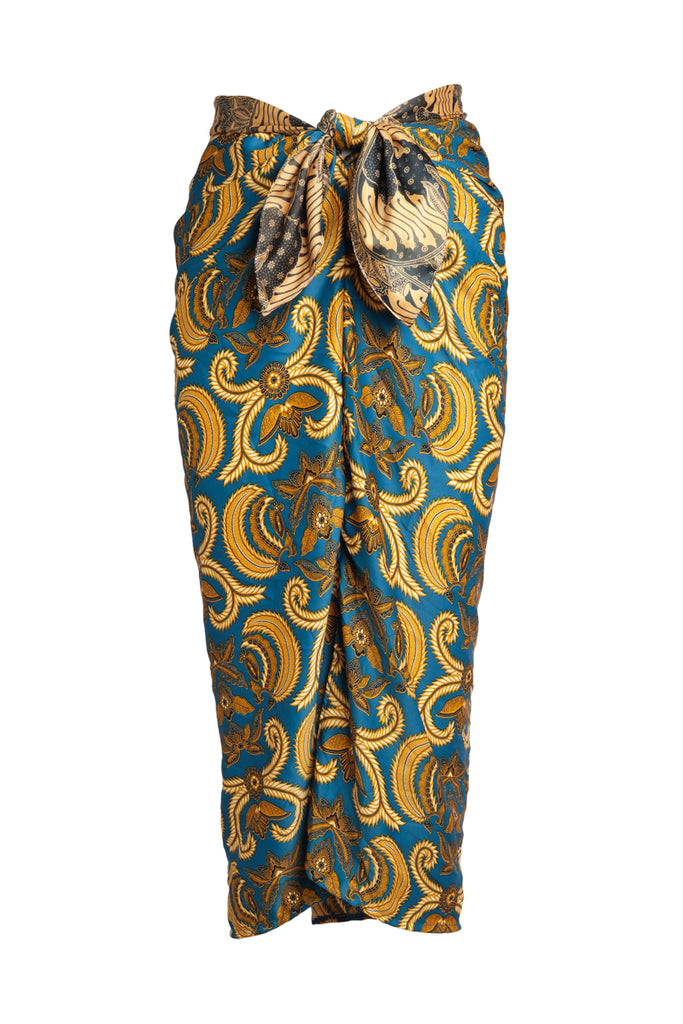 Golden Orchid Silky Goodness Malong