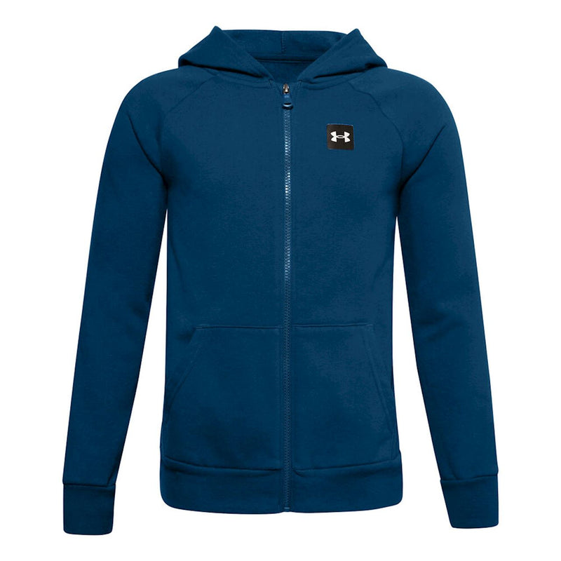 Under Armour Boys' UA Rival Fleece Full Zip Hoodie
