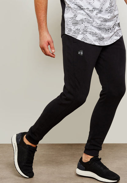 UNDERARMOUR RIVAL FLEECE JOGGER BLACK