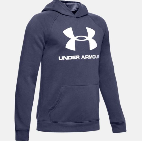 UNDERARMOUR RIVAL LOGO HOOD YOUTHS