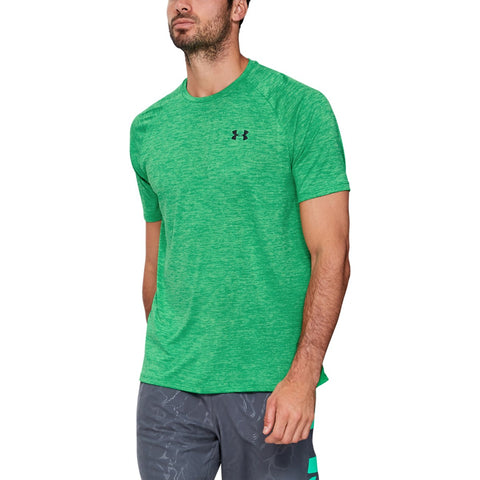 UNDERARMOUR TECH 2.0 SS TEE GREEN