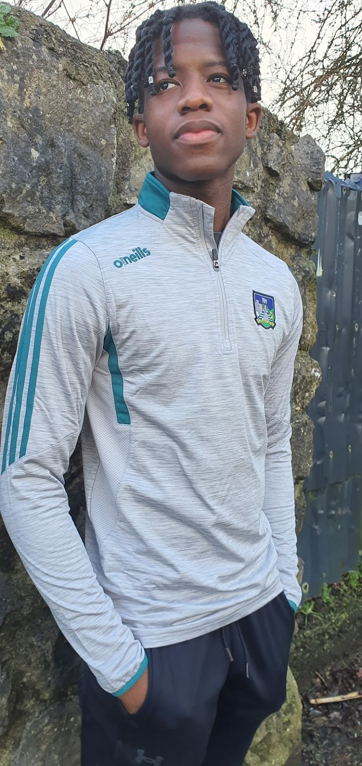 Limerick O'Neills Raven Brushed Half Zip Youths