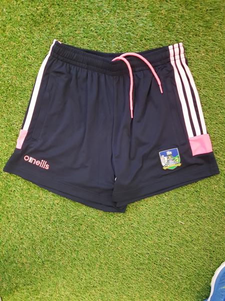 Limerick O'Neills Raven Shorts Pink Youths