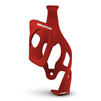 Oxford Right Side Pull Bottle Cage Red