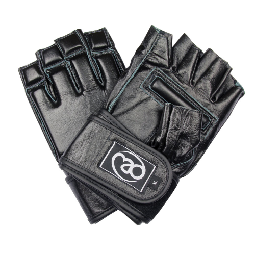 FIT MAD LEATHER GRAPPLING GLOVE GRAPGL BLACK M