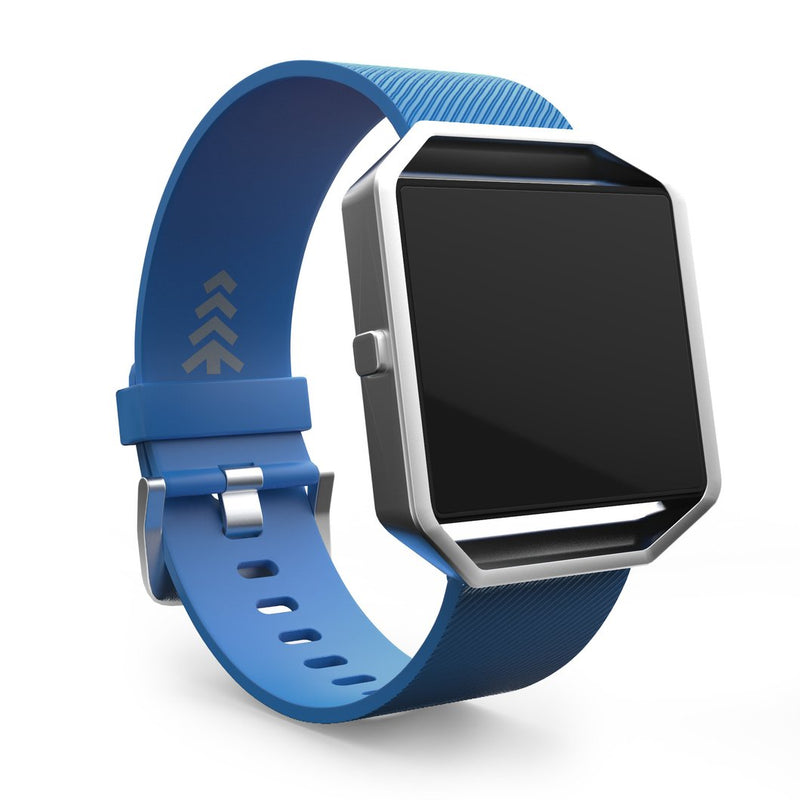 Fitbit BLAZE Classic Accessory Band Blue Large