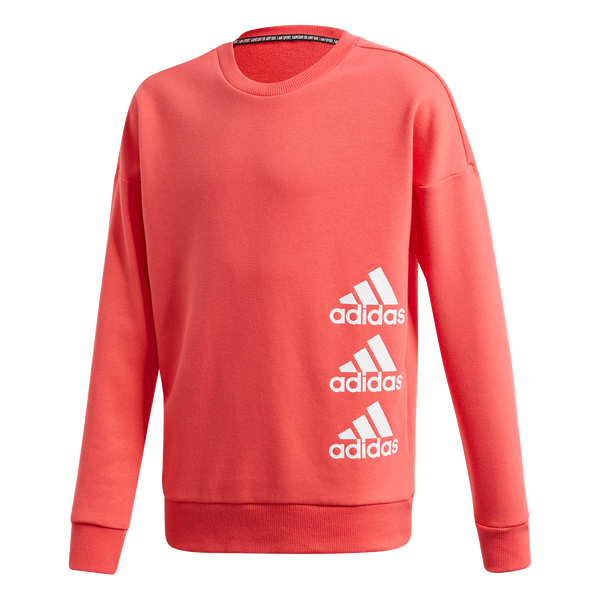 ADIDAS MUST HAVE CREW SWEATSHIRT YOUTH