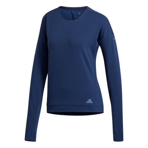 ADIDAS SUPERNOVA RUN CREW SWEAT W