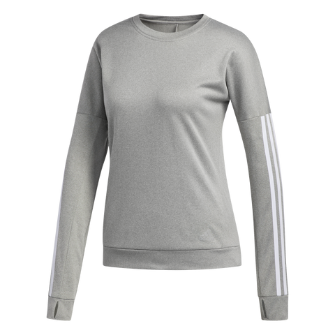 ADIDAS RESPONSE LONG SLEEVE SWEATSHIRT W