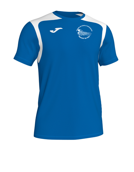 Fr. Casey's Joma Championship V Tee Royal/White Color