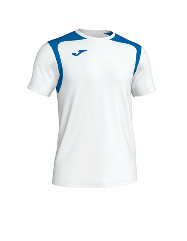 Fr. Casey's Joma Championship V Tee White/Royal Color