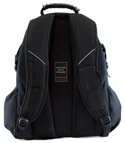 RIDGE 53 BOLTON BACKPACK BLK/RED