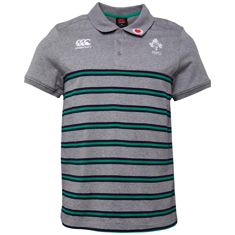 CCC COTTON JSY STRIPE POLO