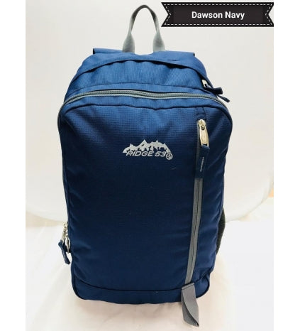 RIDGE 53 DAWSON BACKPACK NAVY/GREY