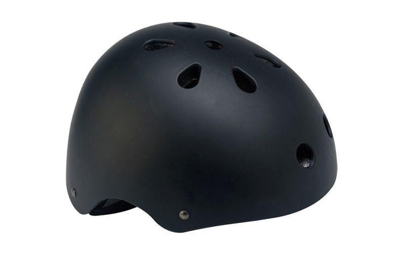 BMX Black Cycle Helmet