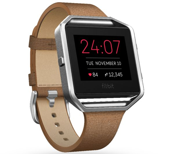 Fitbit BLAZE Accessory Band Leather Camel Small