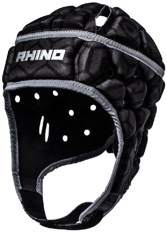 RHINO PRO HEAD GUARD BLACK KIDS