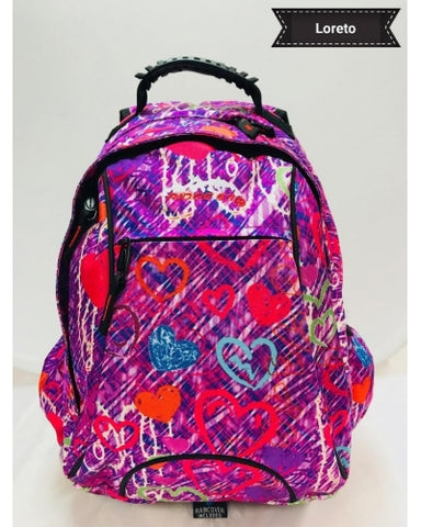 RIDGE 53 LORETO BACKPACK Lorp PINK