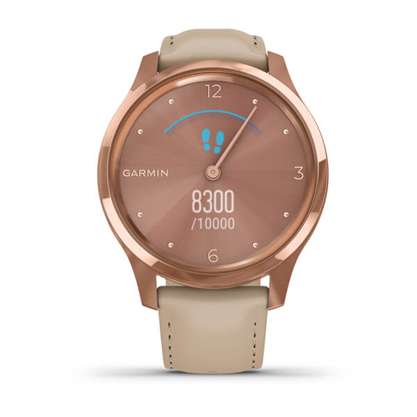 vivomove Luxe, Rose Gold-Beige, Leather