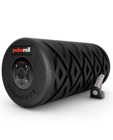 PULSEROLL VIBRATING FOAM ROLLER BLACK