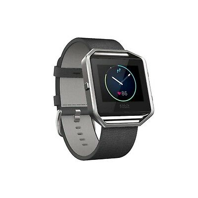 Fitbit BLAZE Accessory Band Leather Black Small