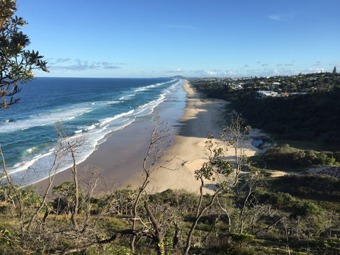 Sunshine Beach, Queensland, Looking South