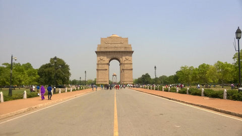 Gate of India  and the Rajpath (Kings Way), New Delhi