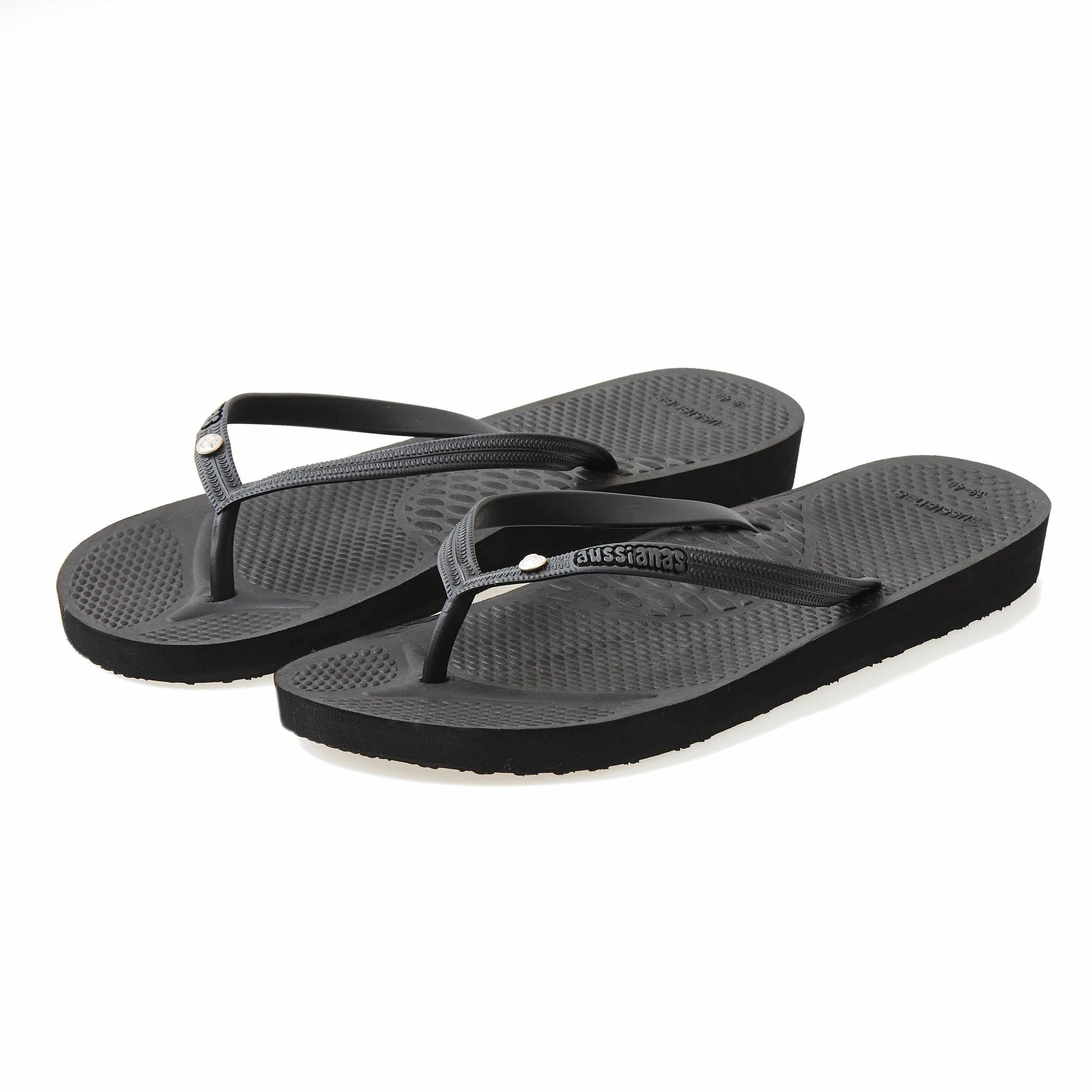 b94298366bcc7a Flip-Flops With Arch Support  Aussie Soles Slim Strap Orthotic ...