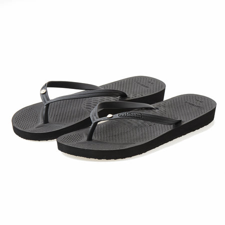 Aussie Soles™ Aussianas™ Slim Strap Orthotic Flip Flops with Arch Support for Adults