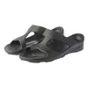 Aussie soles, Indy slide, Indy sandal, arch support sandal, black sandals, arch support slides, orthotic sandals