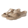 Aussie soles, Indy slide, Indy sandal, arch support sandal, beige sandals, arch support slides, orthotic sandals