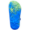 childrens support flip flops Aussie Soles blue green4