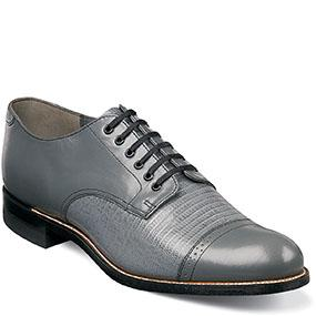 Stacy Adams Madison Lizard Cap Toe Oxford