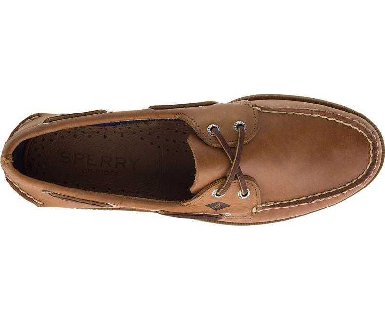 Sperry Authentic Original Leather Boat Shoe 1