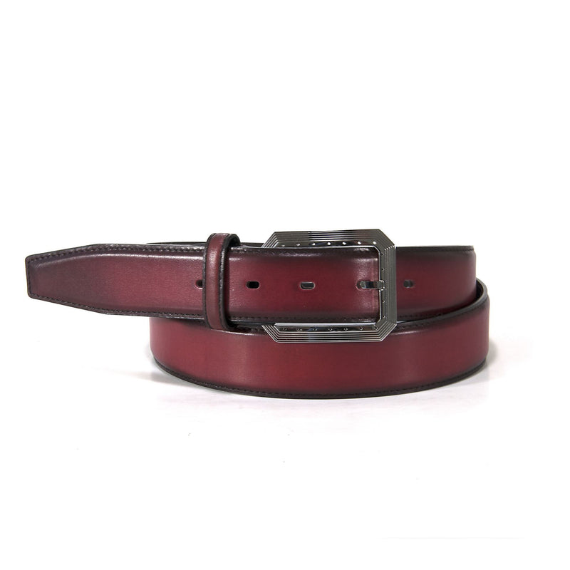Ugo Vasare Belts/Burgundy