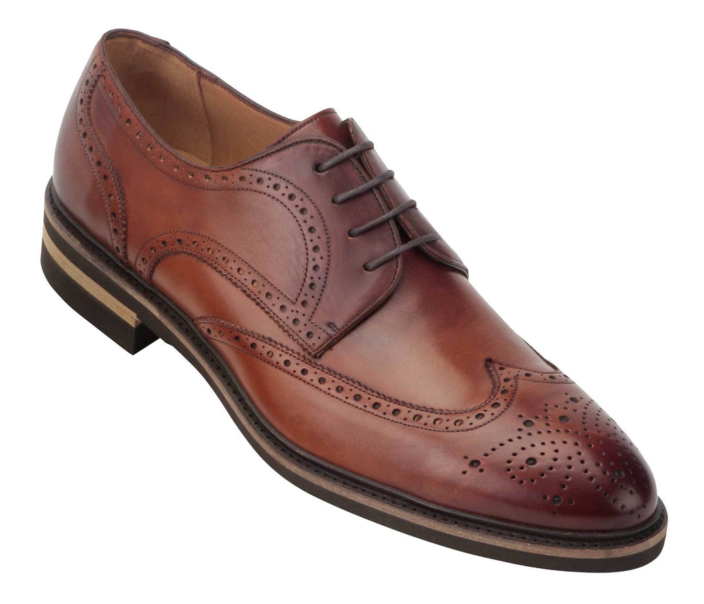 Umber 4757 Wingtip Oxford