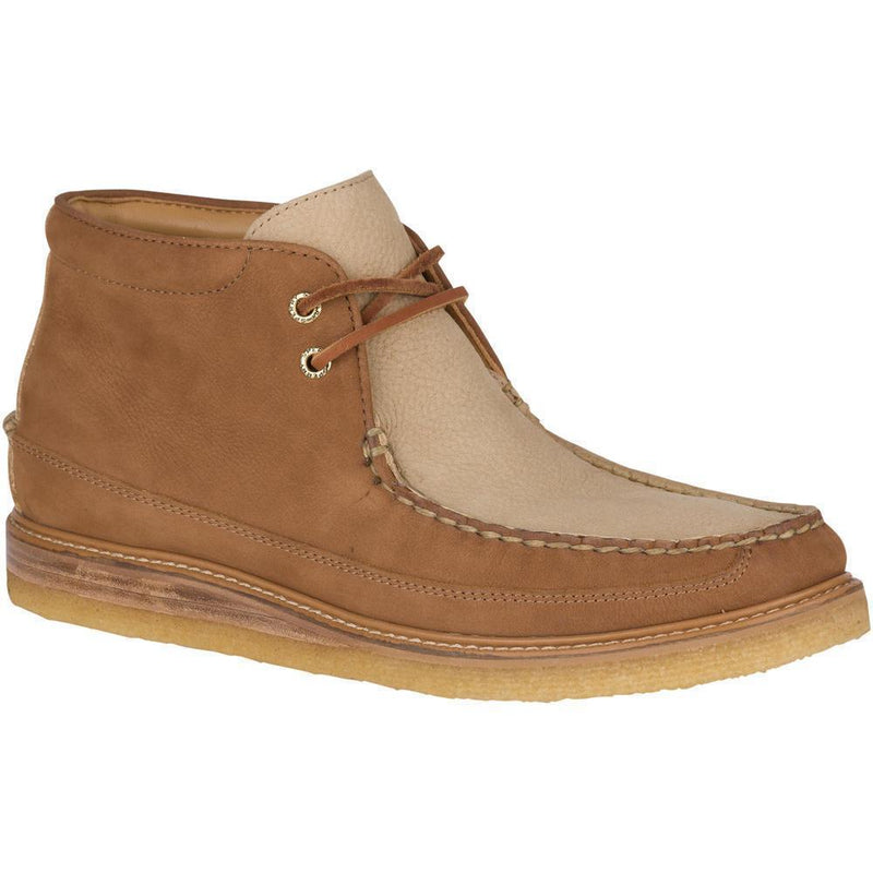 Sperry Gold Crepe Chukka Nubuck