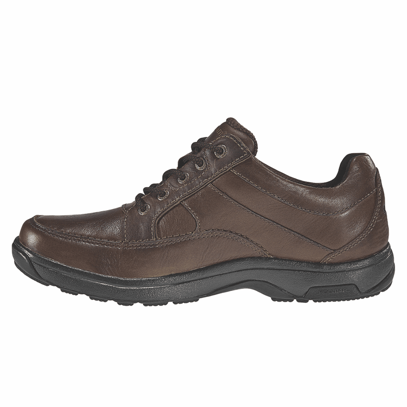 Dunham Midland Waterproof Oxford-Brown Leather 8500SB