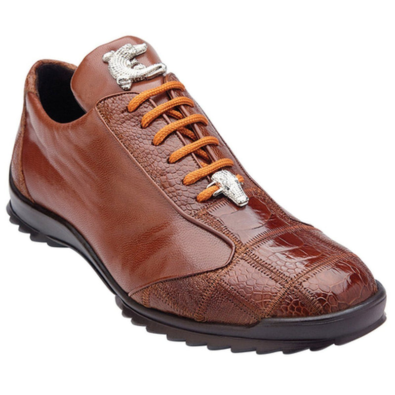 Belvedere Paulo Men's Sneaker in Honey