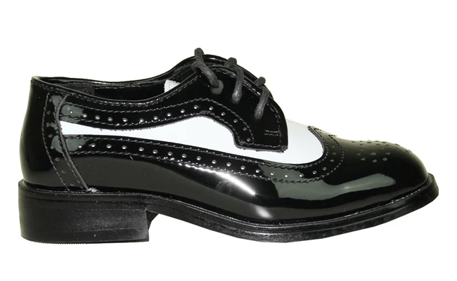 Bravo Jean Yves JY03 Black and White Wingtip